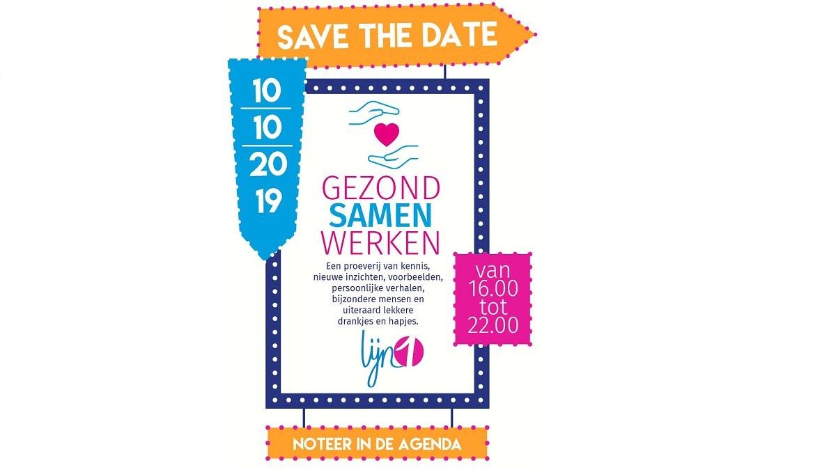<span>Save the Date</span>10 oktober</span>Gezond Samen Werken