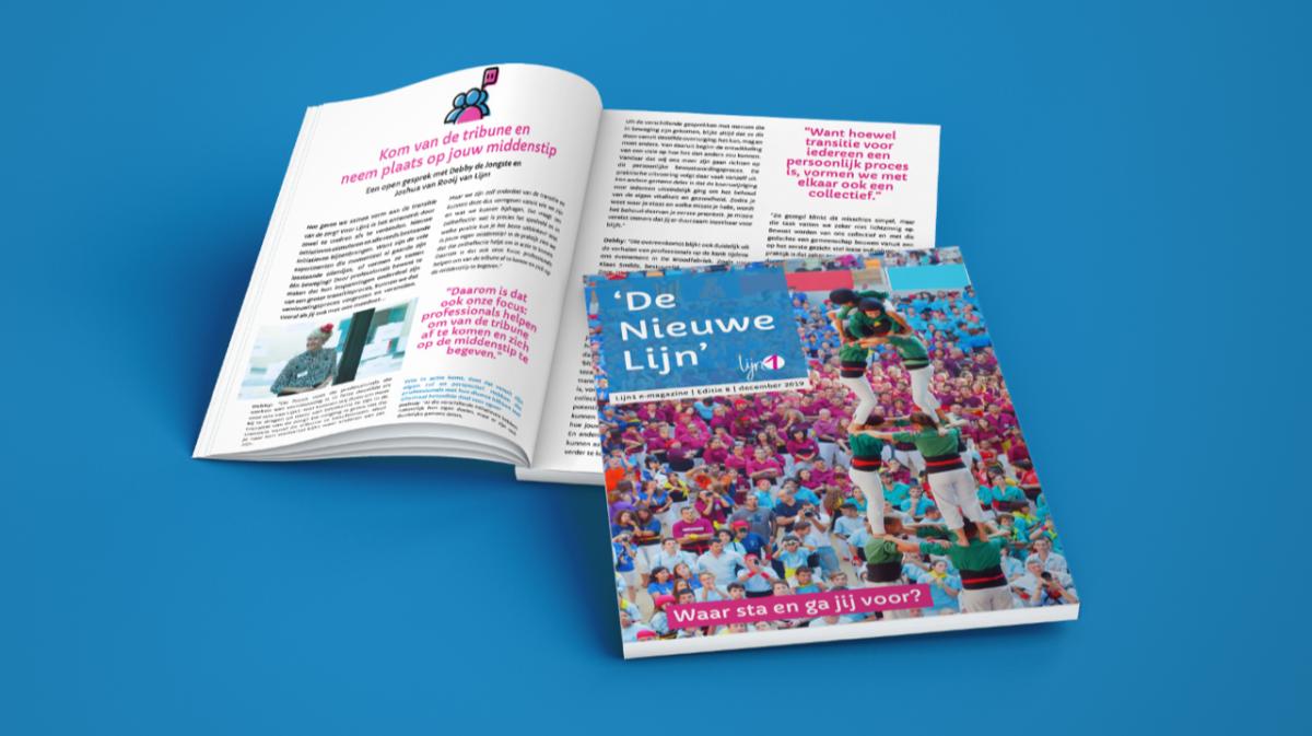 <span>E-Magazine 'De Nieuwe Lijn' Waar sta en ga jij voor?</span>
